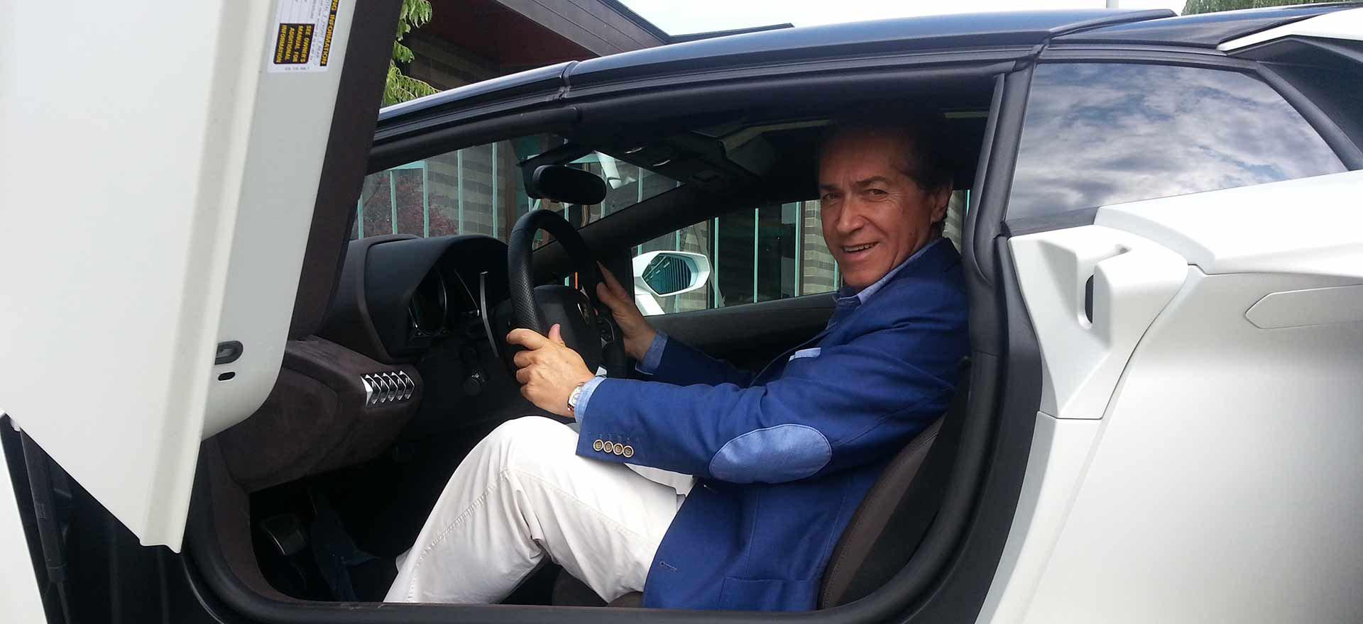 CavallottiTravel incontra  Fabio Lamborghini nella Motor Valley
